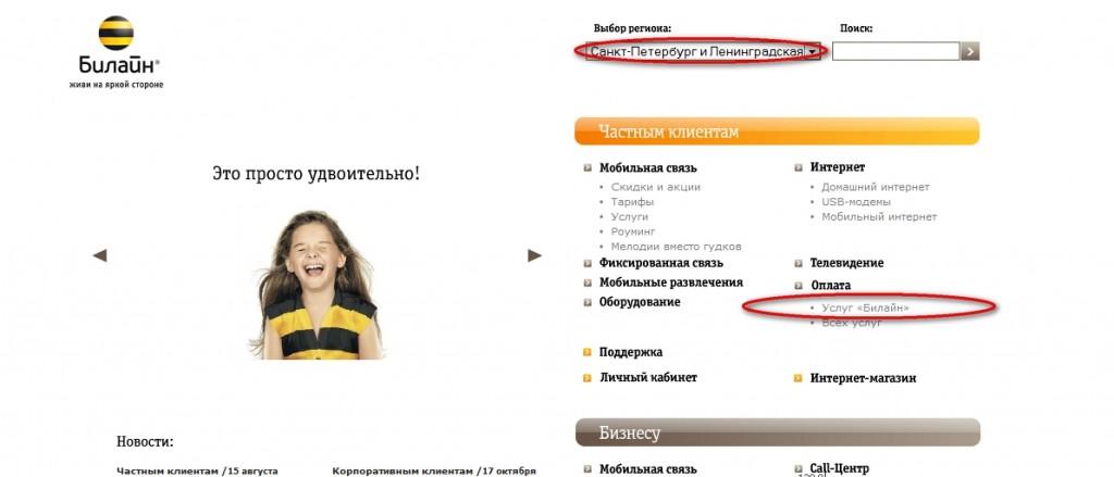 Изображение - Оплата телефона банковской картой beeline.ru_-1024x439